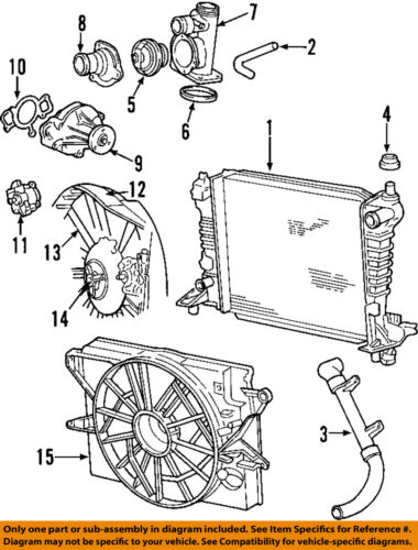 new hydraulic fan pump 2000 2002 lincoln ls 3 0l v6 24v ... cadillac catera 3 0 engine diagram