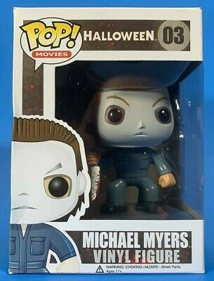 Funko Pop! Horror Movies: Halloween - Michael Myers Vinyl Figure #03 Mint in Box - Halloween Michael Myers Movies