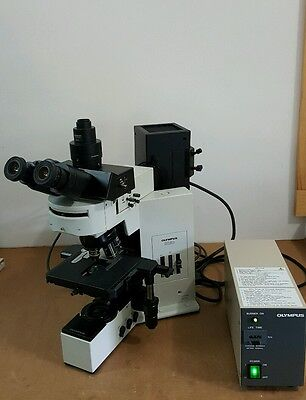 Olympus Microscope Bx50 With Fluorescence Fully Serviced