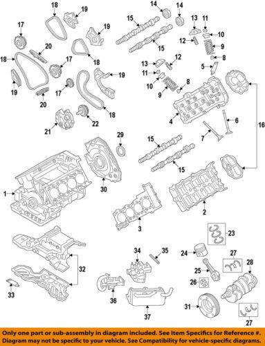 AUDI OEM 2016 S7-Valve Seal 079109675A | eBay | Audi Rs7 Engine Diagrams |  | eBay