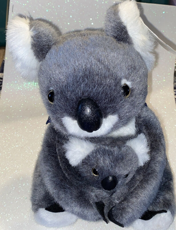 Koala Plush With Baby From G Day straight from Australian Inspired Souvenier 105