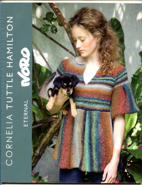 Noro Eternal Knitting Yarn Pattern Book By Hamilton With 17 Designs