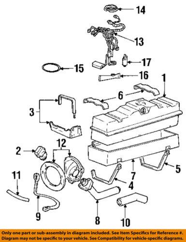 GM OEM-Fuel Pump 25168719