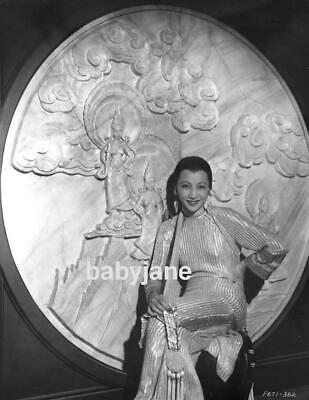 Asian Themed Costumes (024 ANNA MAY WONG BEAUTIFUL ASIAN THEMED COSTUME AND SET)