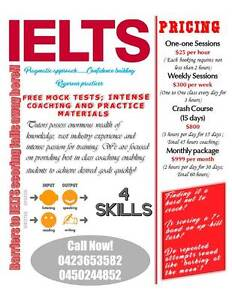 IELTS Excellence Coaching; Your trusted cobber in learning! Parkside Unley Area Preview
