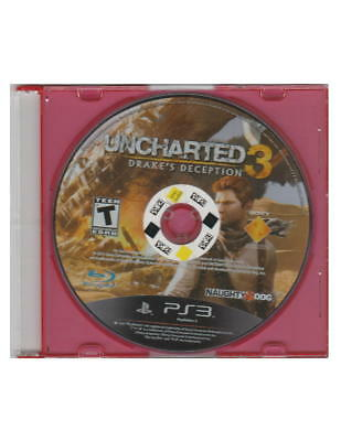 *UNCHARTED 3 DRAKE'S DECEPTION (PS3) clean disk (DISC ONLY) free DVD* Ps3 Disk Cleaner