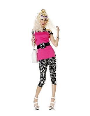 3 pc Trailer Park Princess Floozy Adult Ladies Costume Retro 80's One Size   B29 (New Halloween 3 Trailer)