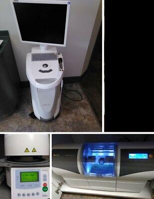 Sirona Cerec 2013 Omnicam Dental Scanner W Mc Xl Mill Programat Cs Oven