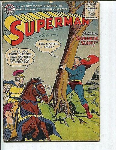 SUPERMAN 105 GD+ BORING 1956