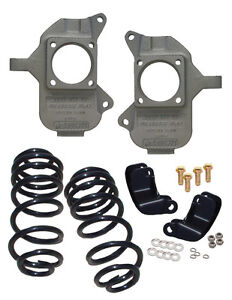Hummer H2 Coil Rear End 2003 - 2009 2/3 Lowering Kit McGaughys 93092