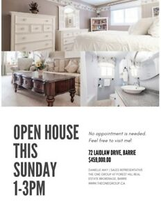 Open House Today Dec. 16 from 1-3PM @ 72 Laidlaw