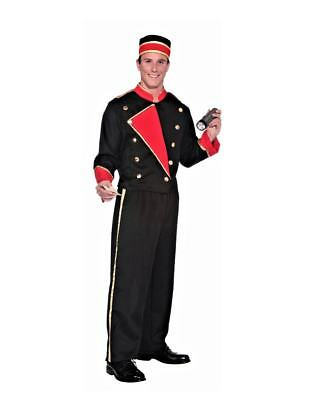 Movie Usher Costume (Movie Usher Hollywood Vintage 20's Retro Unisex Economy Adult Costume)