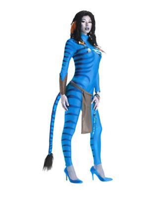 Neytiri Avatar Blue Bodysuit Cosplay Sexy Fantasy X Small Adult Costume - Sexy Avatar Kostüm