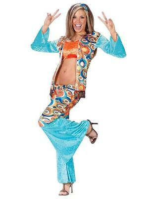 60's - 70's 3 pc Sexy Hippie Theme Party Wedding Halloween Adult Costumes N28 - 60's Themed Halloween Costumes