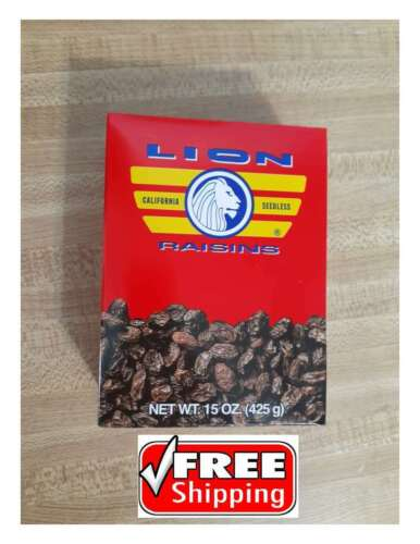 (5)California  Raisins 4.68 lb   snacks cooking kitchen cookies Dried fruit