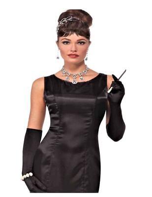 High Society Basic Black Dress 20's - 60's  Adult Costume - High Society Costumes