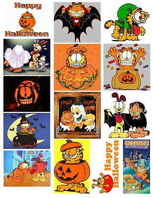 Garfield Halloween Photos (GARFIELD  HALLOWEEN   PHOTO-FRIDG)