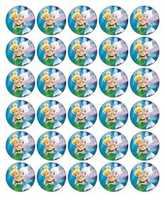 Tinkerbell And Periwinkle Cake Toppers