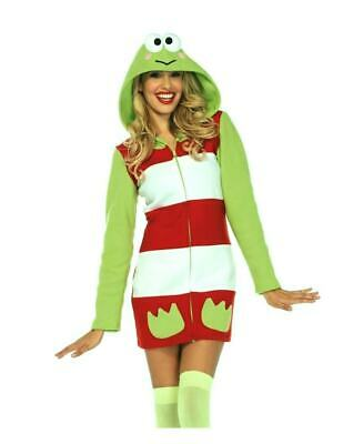 New Hello Kitty Keroppi Cozy Adult Women's Costume HK86652 REDUCED Costumania](Hello Kitty Costume Women)