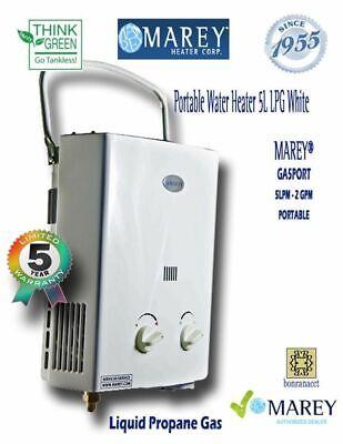Portable Propane Best Tankless Water Heater  MAREY GA5PORT Food Truck
