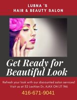 beauty salon service at affordable prices