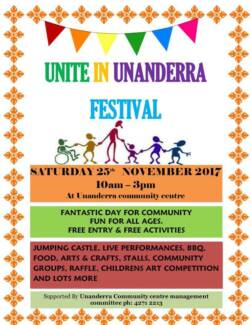 STALLHOLDERS WANTED!  for Unanderra Community Festival