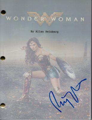 Patty Jenkins Signed Autographed Wonder Woman Script