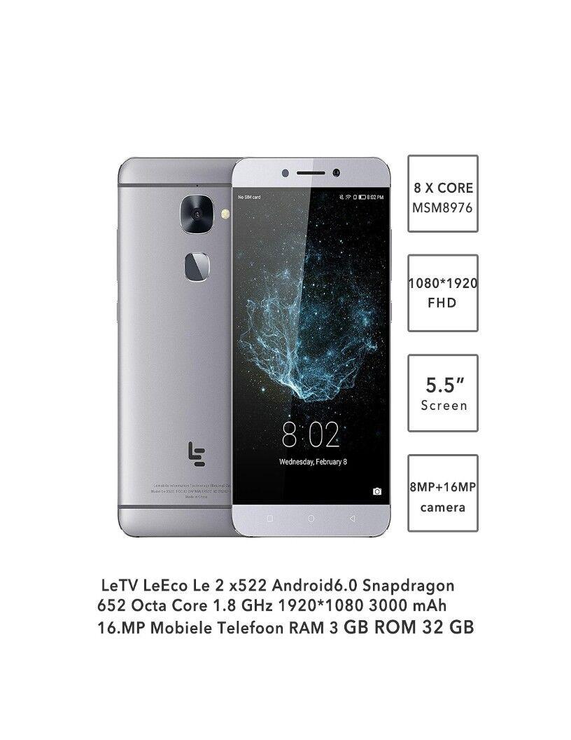 LeEco LeTV Le 2 X526 4G Cellphone 3GB 64GB 5.5 inch Camera: