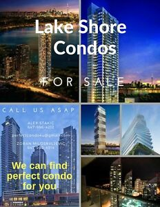 AWESOME CONDOS AT PARKLAWN /LAKESHORE INTERSECTION
