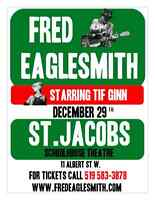 FRED EAGLESMITH LIVE @ St. Jacobs Schoolhouse Theatre - Dec 29th