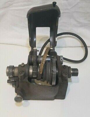 Sears Craftsman Atlas 6 Metal Lathe Headstock Assembly 101 618 Gear Lever