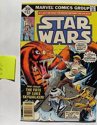 Star Wars comic book Marvel #11 may 78  C-8.5 diamond 70's 80's vintage  417
