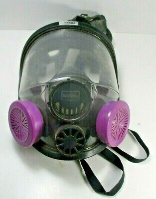 Honeywell 76008a Respirator Full Face Mask Preowned Ml