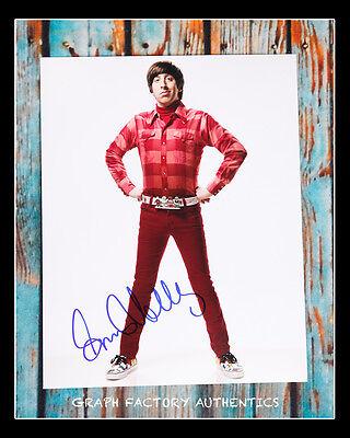 Gfa The Big Bang Theory  Simon Helberg  Signed 11X14 Photo Mh1 Coa