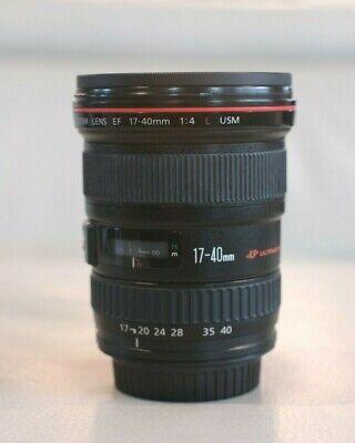 Canon EF 17-40 mm f/4 L USM Lens Excellent Condition