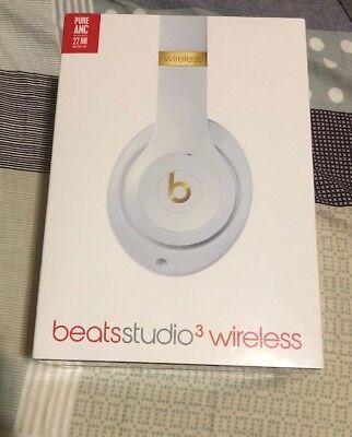 Beats By Dre Studio 3 Wireless Headphones - Precise Edition Porcelain Rose - New