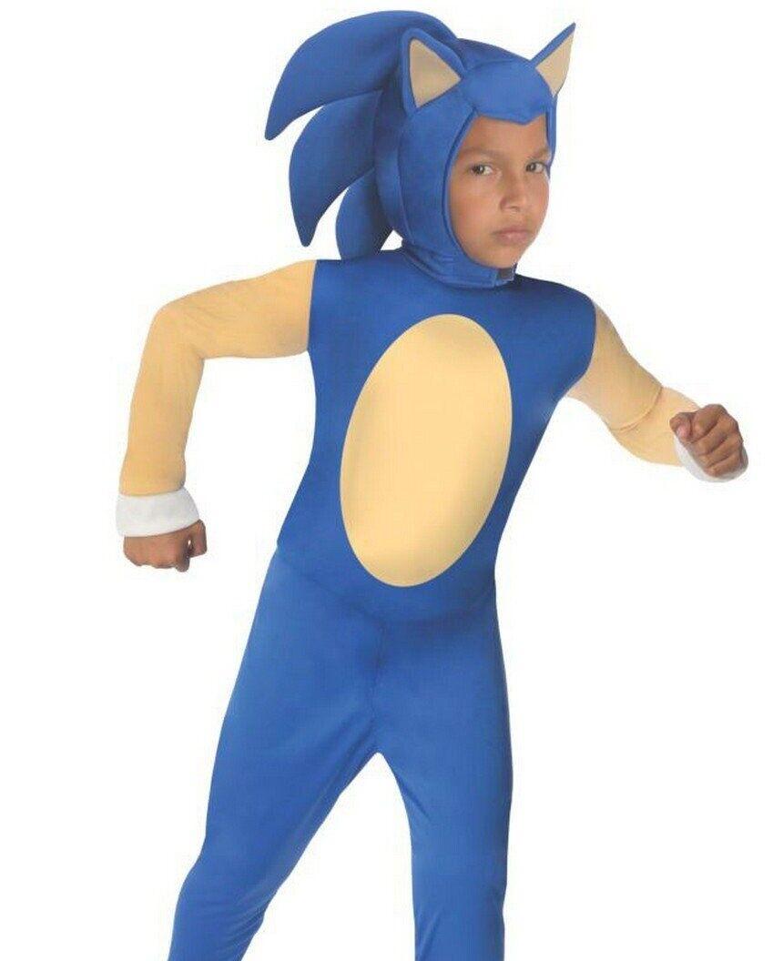 sonic the hedgehog costume boys kids child