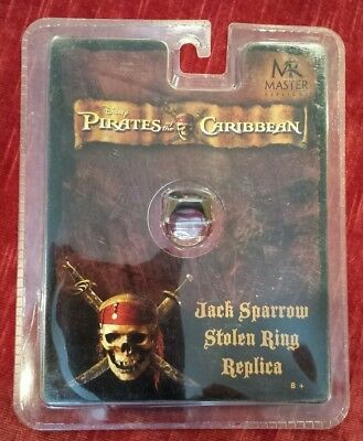 Used, Pirates of the Caribbean Jack Sparrow Stolen Ring replica by Master Replicas for sale  Round Lake