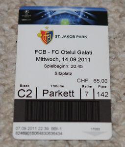 old TICKET CL FC Basel Switzerland Suisse - Otelul Galati Romania - <span itemprop='availableAtOrFrom'>Poznan, Polska</span> - old TICKET CL FC Basel Switzerland Suisse - Otelul Galati Romania - Poznan, Polska