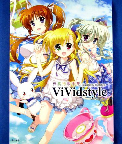 Takuya Fujima Illustrations - Vividstyle /Japanese Anime Art Book