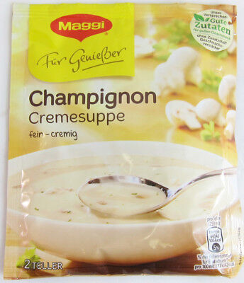 Maggi Cream of Mushroom Soup PACK of 1 ( 2 servings) -FREE US SHIPPING
