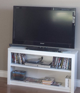 Custom made entertainment/ bookcase stands