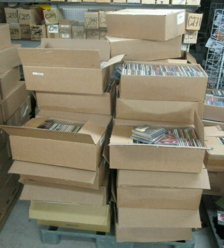 NEW LOT OF 100 CD