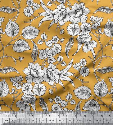 floral printed 115 gsm 58 wide viscose