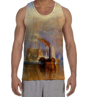 Turner Tank (William Turner The Fighting Temeraire Men's All Over Vest Tank Top)