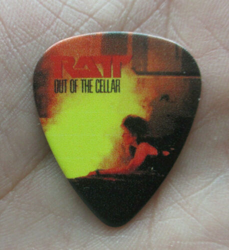 RATT (Heavy Metal Hair Band) Collectors Guitar Pick - Out of the Cellar