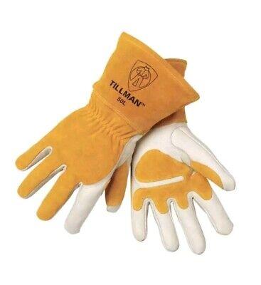 Tillman 50 Top Grain Cowhide Mig Welding Gloves - L
