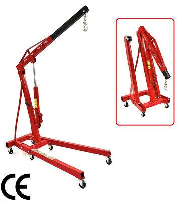 GRUA PLEGABLE 2 TONELADAS IDEAL PARA MOTORES. Grua para taller mecanico -...