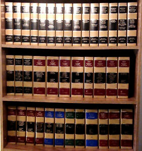 Martindale-Hubbell Law Digest & Directory Office Library Decor/Staging 54v  XLHC