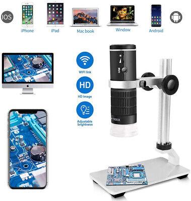Wifi Digital Microscope Endoscope Magnifier Aluminium Adjustable Stand Holder